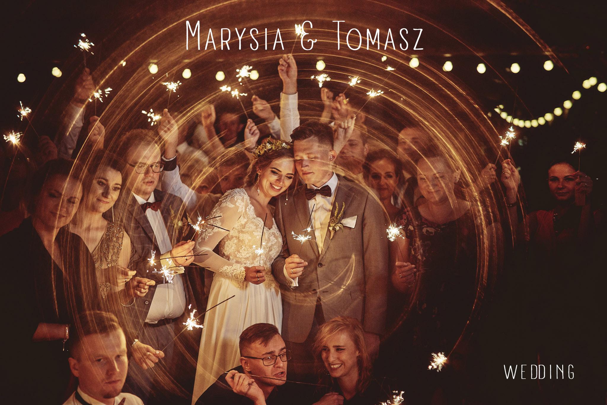 Marysia & Tomasz | Dwór Dobarz